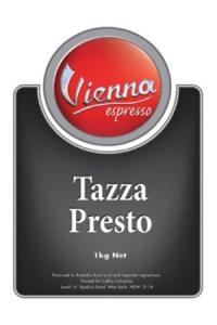 Vienna Tazza Presto Coffee Beans
